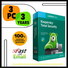Kaspersky Total Security Antivirus 2020 - 3 PC Device 3 YEAR - GLOBAL LICENSE