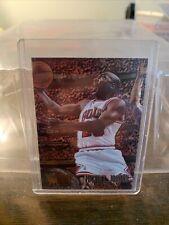 1995-96 Fleer Metal Michael Jordan #13 95-96 Basketball Card Chicago Bulls