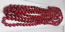 Vintage Japan Mercury Round Glass Christmas Garland/Beads Decoration