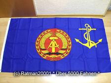 Fahnen Flagge DDR Chef der Volksmarine  - 90 x 150 cm