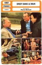DROIT DANS LE MUR - Pierre Richard,Veronique Genest (Fiche Cinéma) 1997