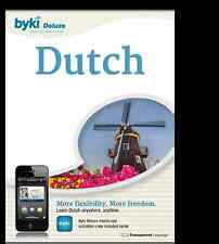 BYKI Dutch Language Tutor Software & Audio Lessons: WIN,MAC
