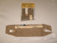Money Belt,travel pouch,passport holder,undercover waist travel bag made in U.S.