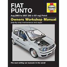 Haynes Car Manual 4746 FIAT PUNTO Petrol 03-07 Workshop Repair Book Maintenance