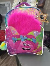 Trolls Poppy 3D Kids Backpack W/ Pom Pom