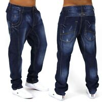 Herren Jeans Hose loose fit Tanzhose Clubwear Hammer Harem baggy Freemove