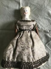 Antique 1862 Autoperipetikos Fancy Parian Head Walking Doll With Original Box