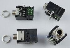 10PCS  3.5mm 1/8  Female Audio Connector Stereo Socket/Jack  PCB Mount  PJ306BM