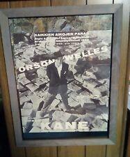 CITIZEN KANE ORIG Finland Movie Poster 20x17 Orson Welles Charles Foster Kane