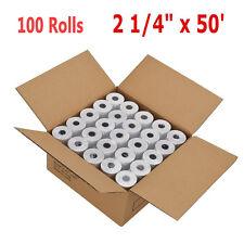 100 Rolls/Case 2 1/4