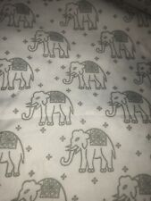 cynthia rowley Twin Flat Fitted Elephant Sheets Polyester 2 Piece Set Bedding
