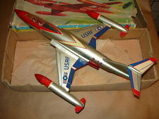 INGAP AEREO MC DONNELL F 101 B USA US AIR FORCE VINTAGE TIN TOY