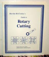 Marsha McCloskey's Guide to Rotary Cutting, 1990