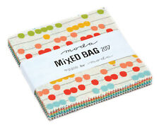 "Moda FABRIC Charm Pack ~ MIXED BAG 2017 ~ by Studio M 42 - 5"" squares"