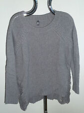 LONGPULLOVER Pullover - grau - Wolle - * 2ND DAY * - Gr. XL