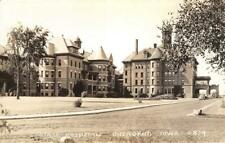 RPPC State Mental Hospital, Cherokee, Iowa Insane Asylum c1930s Postcard