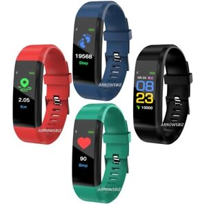 New SMART WATCH Fitness Activity Tracker Fitbit Android iOS Heart Rate UK Seller