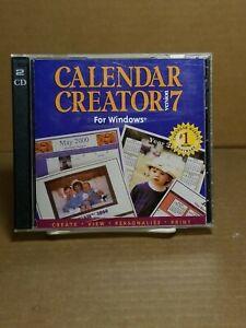 Broderbund Calendar Creator 7 - CD-ROM for Windows 95 / 98 + Print Shop for Mac