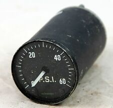 Pressure gauge reading 0-60 psi for RAF aircraft (GB10)