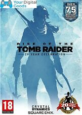 Rise of the Tomb Raider 20 Year Celebration PC [BRAND NEW GLOBAL STEAM KEY]