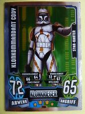 Force Attax Clone Wars Serie 4 (2013), Klonkommandant Cody (205), Star-Karten