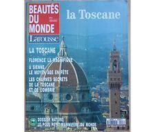 Collectif - Hebdomadaire Beautés du Monde n°8 - la Toscane - Larousse - 1992 -