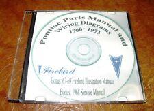 60 61 62 63 64 65 66 67 68 69 70 71 72 73 Pontiac Parts Manual CD