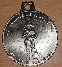 BELGIQUE Médaille de la Marche de Saint Roch à Chatelet Cie des Vétérans 10 ans