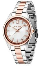 Police 14493MSTR/04M Elegance Rose S/S Unisex Watch  2Yr Guarantee RRP £109.00