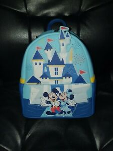 Disneyland Disney Parks 65th Anniversary Loungefly Mini Backpack BNWT