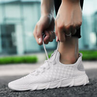 Man Breathable Runing Shoes Sport Trainers Casual Athletic Sneakers Comfy US