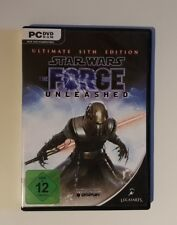Star Wars: The Force Unleashed - Ultimate Sith Edition (PC, 2010, DVD-Box)