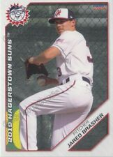 2019 Hagerstown Suns Jared Brasher RC Rookie Washington Nationals