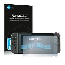 6x Savvies Displayschutzfolie Nintendo Switch Schutzfolie klar