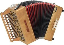 Sherwood SHIRE II D/G Melodeon, Cagoni Reeds. 2 row, 2 voice. At Hobgoblin Music