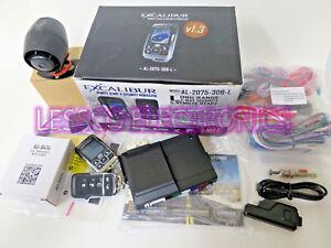 Excalibur AL-2075-3DB-L 2 Way 1 Mile Range Alarm Remote Start System