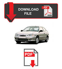 Hyundai Accent 1999 Year Specific Factory Service Repair Workshop Manual
