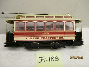 JT-188 Spectrum On30 #25128 Closed Street Car United Traction Co #1623