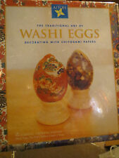 WASHI EGGS - Decorating with Chiyogami Papers