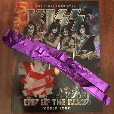 KISS END OF THE ROAD TOUR BOOK PROGRAM 2021 VERSION V6 V 6 STREAMER CONFETTI WOW