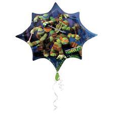 Las Tortugas Ninja Mutantes Fiesta Cumpleaños 88.9cm Helio con Forma Globo