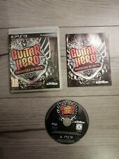 Guitar Hero Warriors of Rock (PS3, PlayStation 3 2010) Complete - Good Condition