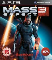 PS3 Mass Effect (III) 3 Uncut game for PlayStation 3 NEW
