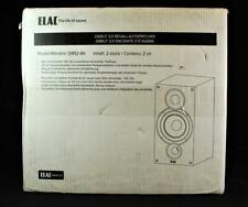 ELAC Debut 2.0 B5.2 Bookshelf Speakers Black Pair New