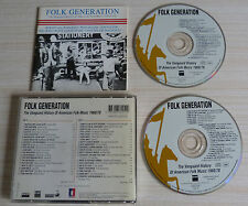 2 CD FOLK GENERATION THE VANGUARD HYSTORY OF AMERICAN MUSIC 1960/78 40 TITRES