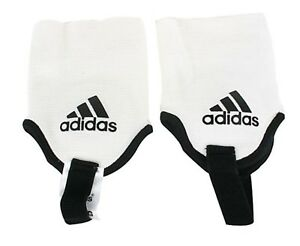 Adidas Ankle Guards 1 Pair Protective Gear Run White Football Breathable 651879
