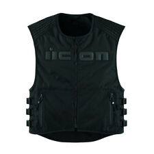 ICON VEST BRIGAND S/M STEALTH BLACK  S/M  Gilet