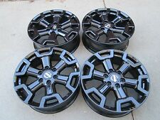 "20"" NISSAN TITAN XD FACTORY  2017 WHEELS RIMS TAKE OFFS BLACK"