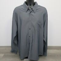 Ted Baker London Men's Dress Shirt Size 6 (2XL) Dark Gray