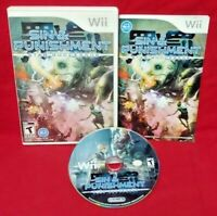 Sin & Punishment - Nintendo Wii Wii U Game Complete Works - 1 Owner CIB NiceDISC